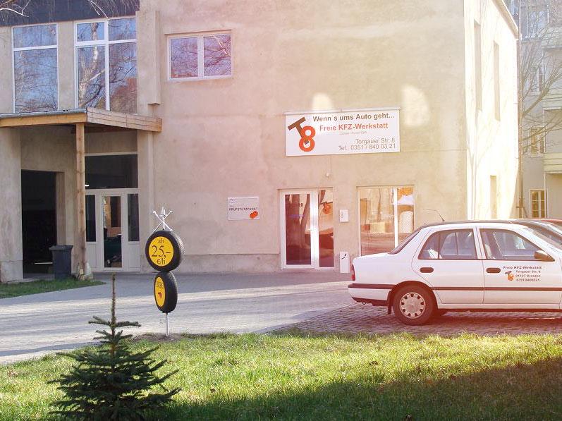 Freie Kfz-Werkstatt T8 in Dresden-Pieschen